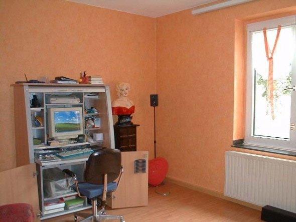 Arbeitszimmer / Büro 'Fernsehen und Arbeiten'