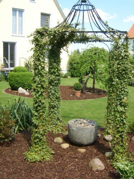 Garten 'Vogelbad untern Pavillion'