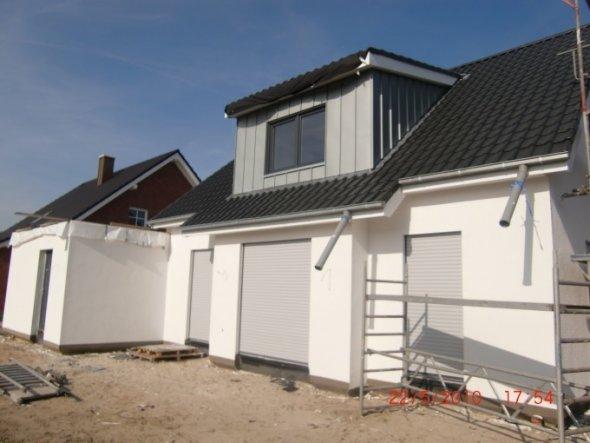 Hausfassade / Außenansichten 'Hausansicht hinten'