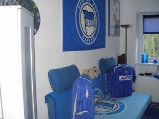 Das blaue (Hertha-)Zimmer