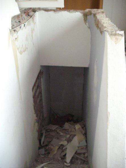 Das war mal der Kellereingang