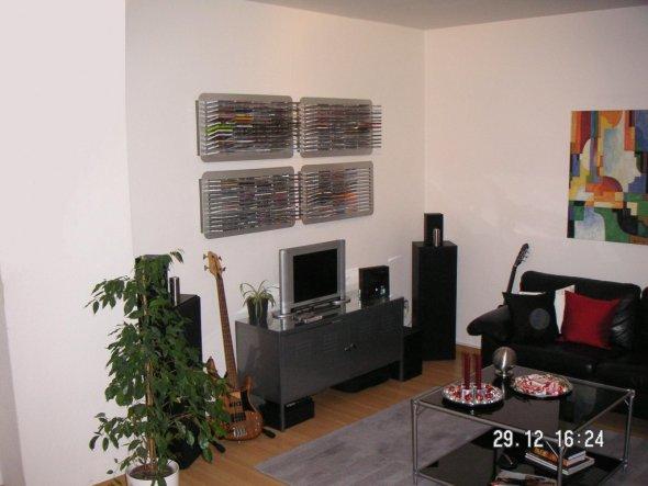 wohnzimmer unsere erste gemeinsame wohnung von chrisa 662 zimmerschau. Black Bedroom Furniture Sets. Home Design Ideas