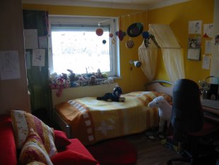 Schlafzimmer (vorm. Kinderzimmer)