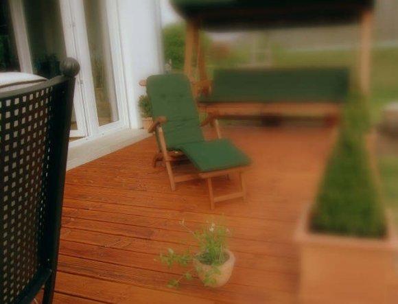 Terrasse / Balkon '♥♥♥terrazza♥♥♥'