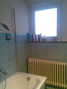 Neue Wohnung Badezimmer