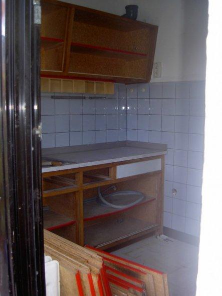 ... wie die Küche früher aussah...