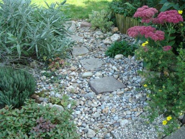 Garten \'Garten - Hang an der Terrasse\' - Garten mit Haus - Zimmerschau
