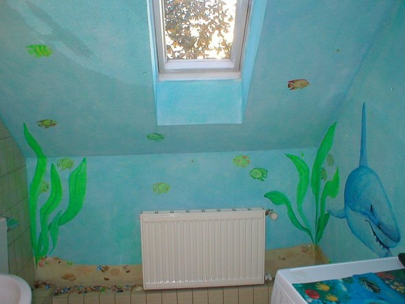 Bad 'unterwasser-badezimmer'