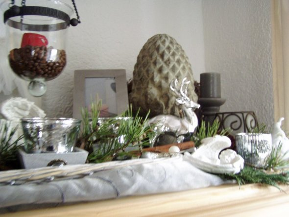 beautiful wohnzimmer deko weihnachten photos - barsetka.info ... - Wohnzimmer Deko Weihnachten