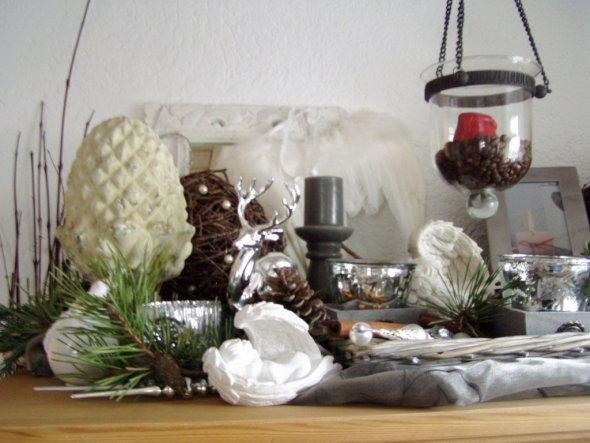 deko 'neue deko weihnachten 2009' - mein domizil - zimmerschau - Wohnzimmer Deko Weihnachten