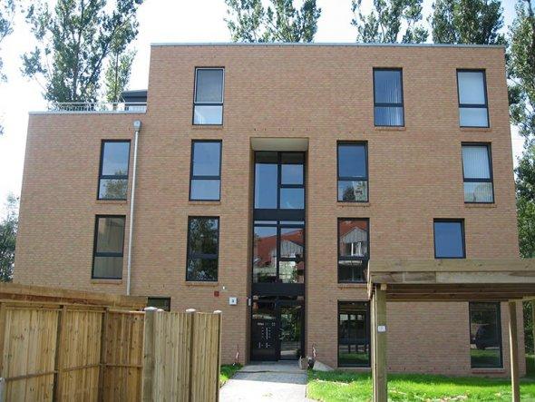 Hausfassade / Außenansichten 'Elbe-Penthouse'
