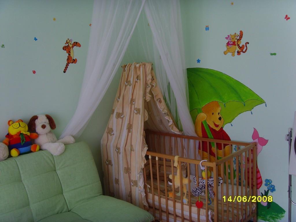 Kinderzimmer 39 winnie pooh 39 kinderzimmer zimmerschau for Winnie pooh kinderzimmer