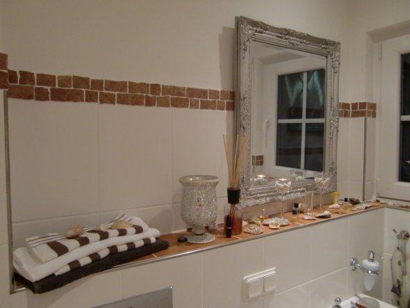 Unser neu gestaltetes Gäste-WC.