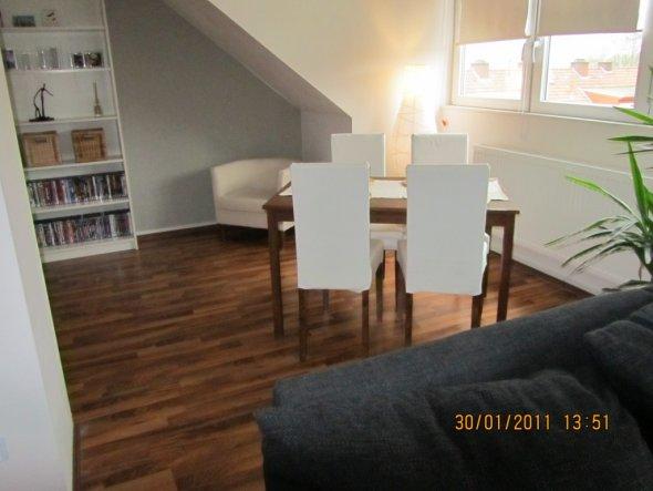 Wohnzimmer 'Wohn-/Essbereich mit offener Küche'