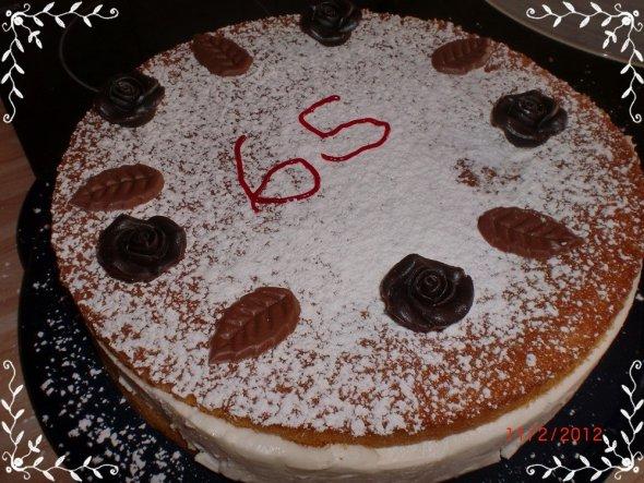 Geburtstagstorte für meine Ma...