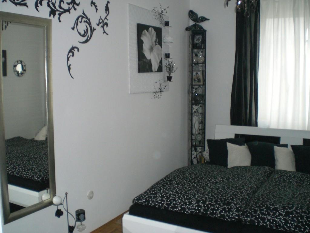 Schlafzimmer Schwarz Silber #23: Schlafzimmer U0027Schwarz/Weißu0027