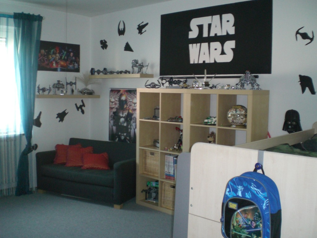 kinderzimmer 39 star wars 39 mein domizil zimmerschau. Black Bedroom Furniture Sets. Home Design Ideas