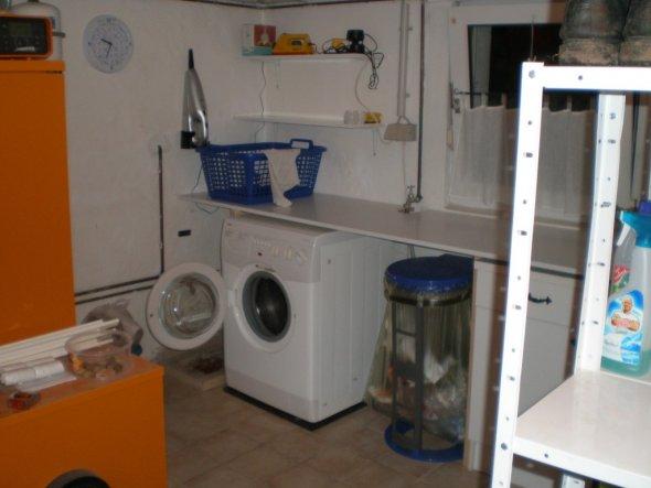 arbeitszimmer b ro 39 hauswirtschaftsraum 39 unser kleines haus zimmerschau. Black Bedroom Furniture Sets. Home Design Ideas
