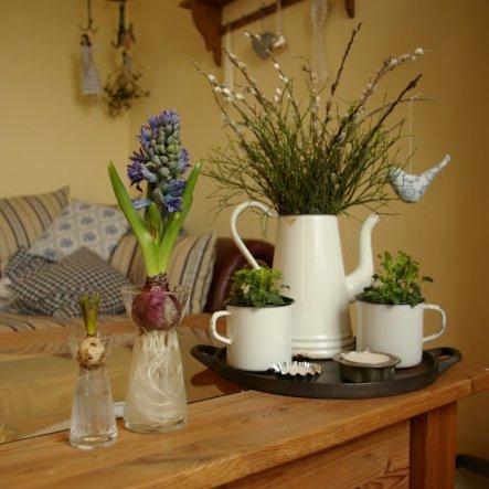 deko 39 fr hling 2012 39 unser kleines haus zimmerschau. Black Bedroom Furniture Sets. Home Design Ideas
