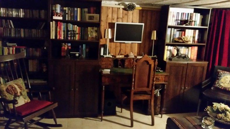 Hobbyraum 39 partykeller leseraum raucherlounge for Lesezimmer einrichten