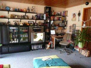 Wohnzimmer Schrankseite