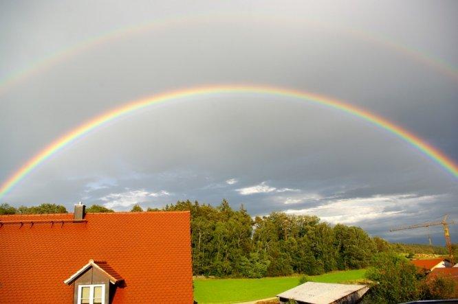Terrasse / Balkon 'Regenbogen'