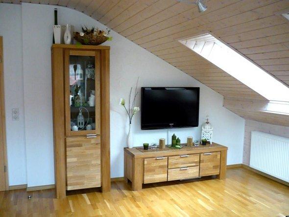 wohnzimmer wohnen wohnen unter 39 m dach von yakari 13642 wohnen zimmerschau. Black Bedroom Furniture Sets. Home Design Ideas