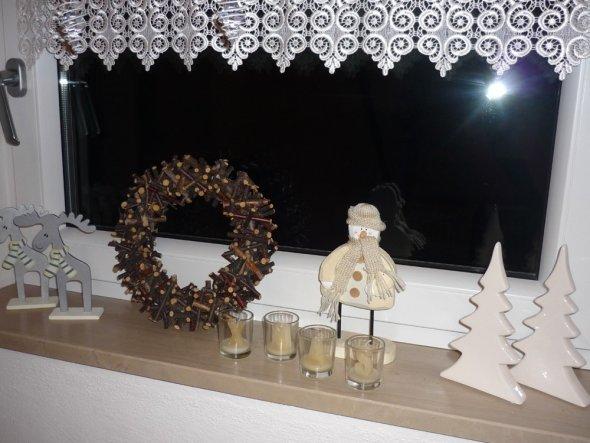 Weihnachtsdeko 'Weihnachtsdeko im Treppenhaus'