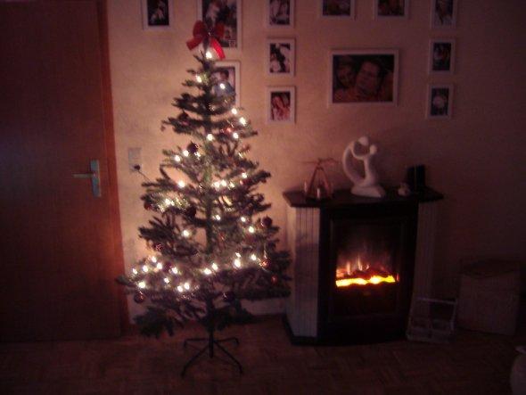 Weihnachtsdeko 39 wohnzimmer 39 6 fam haus zimmerschau - Weihnachtsdeko wohnzimmer ...