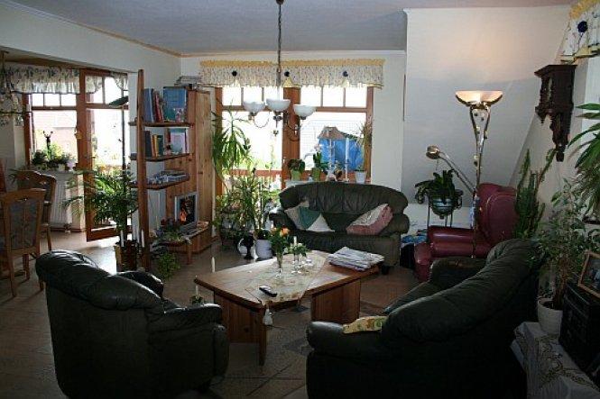 die gemütliche Wohnecke lädt zum relaxen ein, wir lieben viel grün in der Wohnung, an den pflanzen zu erkennen