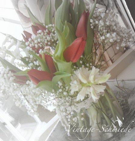 Tulpen und weiße Hyazinthen - die duften auch sooo gut