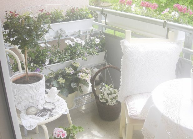Terrasse / Balkon 'Balkonien ist eröffnet'