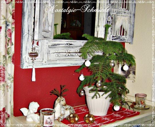 weihnachtsdeko 39 weihnachten klassisch in rot und wei. Black Bedroom Furniture Sets. Home Design Ideas