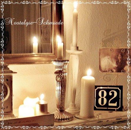 Kerzenlicht zu dieser Jahreszeit gehört einfach dazu