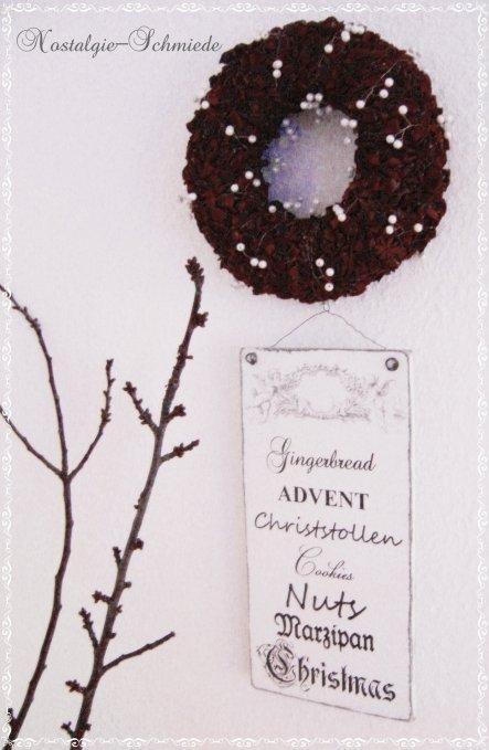 Weihnachtsdeko 'Advent 2012'