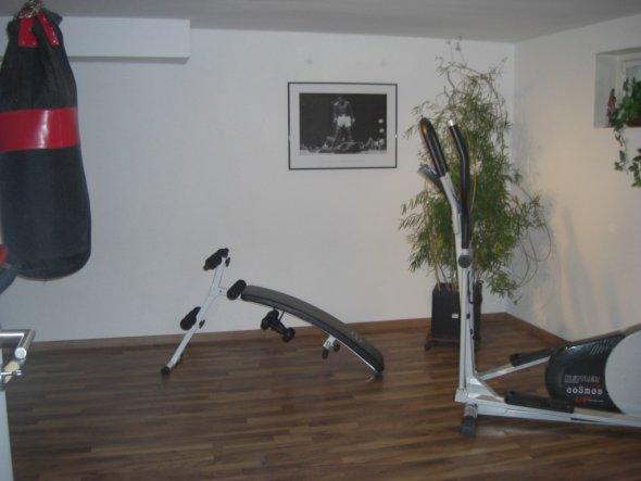 Fitnessraum im keller einrichten  Hobbyraum 'Fitnessraum Keller' - Mein Domizil - Zimmerschau