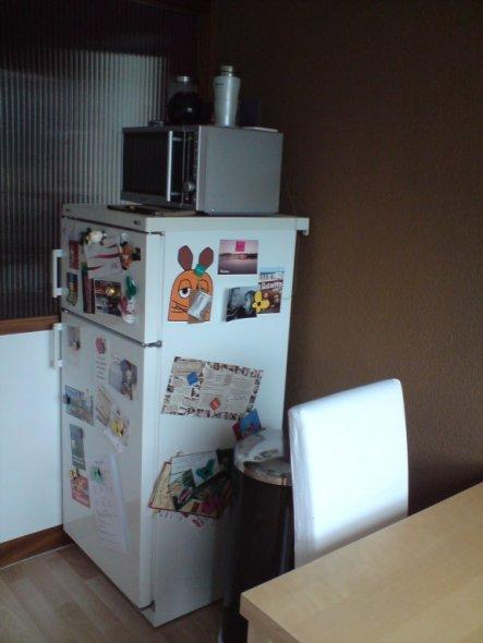 Küche Unsere Futterkrippe  Michi & Anni´s Paradies  -> Kühlschrank Bunt