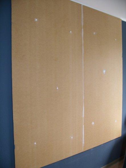 tipp von aannikaa tapezieren auf holzplatte zimmerschau. Black Bedroom Furniture Sets. Home Design Ideas