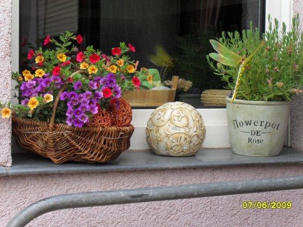 Terrasse / Balkon 'Blumenfenster'