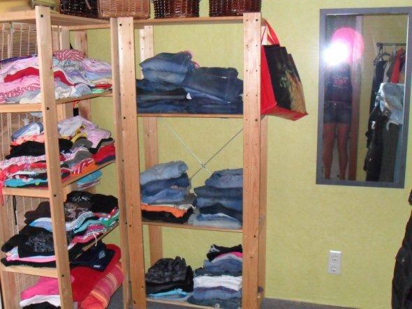 Wohnzimmer 'Ankleide'