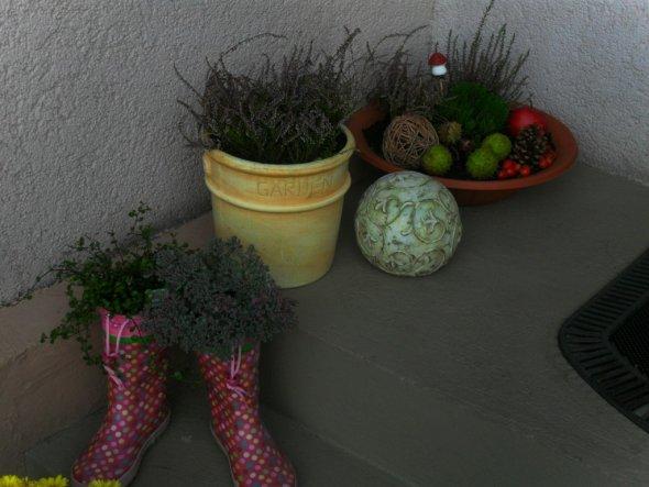 Deko 'Herbstdeko - draussen'