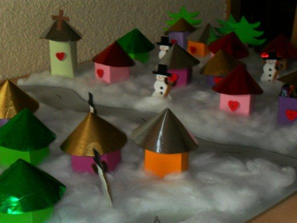Weihnachtsdeko 'Weihnachtskalender'