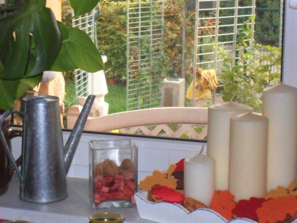 deko herbstdeko innen und aussen unser neues zuhause von. Black Bedroom Furniture Sets. Home Design Ideas