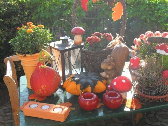 Deko Herbstdeko innen und aussen  Unser neues Zuhause
