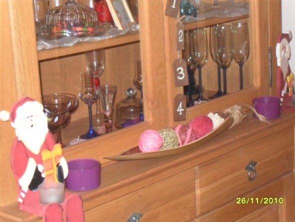 Weihnachtsdeko 'X-mas im Wohnzimmer'
