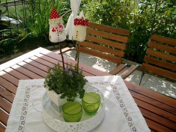 Terrasse / Balkon 'Essplatz im Freien'