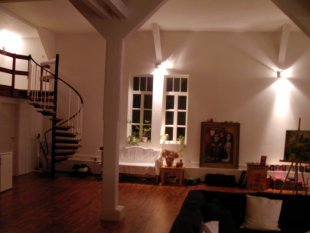Loft im Winter
