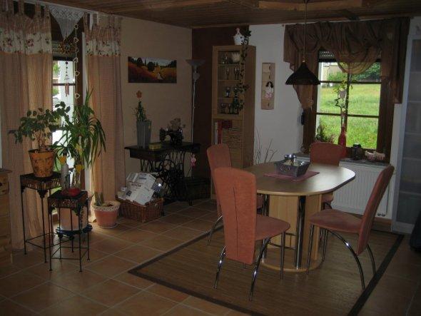 esszimmer 39 landhausstil 39 mein domizil zimmerschau. Black Bedroom Furniture Sets. Home Design Ideas