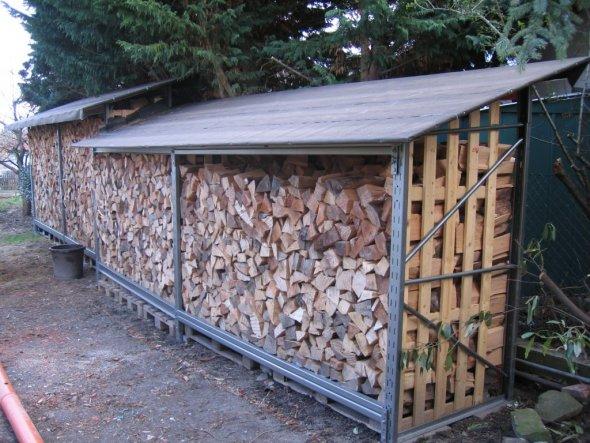 Hausfassade / Außenansichten 'Holzschopf'