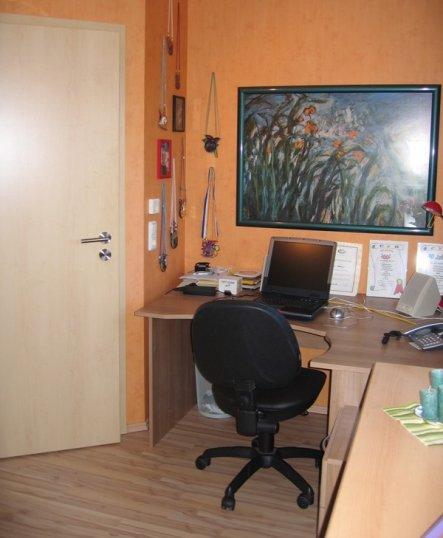 arbeitszimmer b ro 39 b ro und g stezimmer 39 mein tetra pack zimmerschau. Black Bedroom Furniture Sets. Home Design Ideas